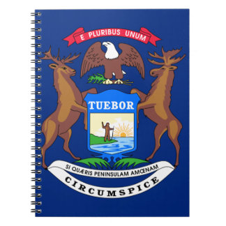 Michigan State Flag Notebooks