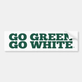 Michigan State® Go Green Go White™ Bumper Sticker