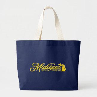 Michigan (State of Mine) Jumbo Tote Bag