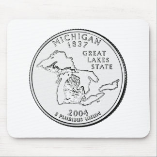 Michigan State Quarter Mousepads