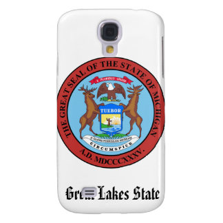 Michigan State Seal and Motto Galaxy S4 Case