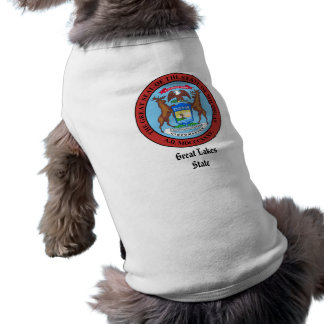 Michigan State Seal and Motto Shirt