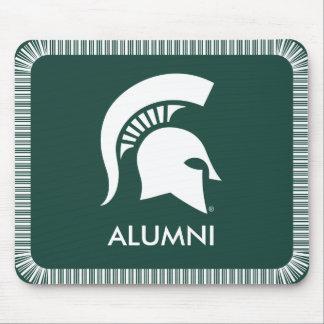 Michigan State Spartan Helmet Logo Mouse Mat