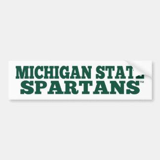 Michigan State Spartans™ Fan Bumper Sticker