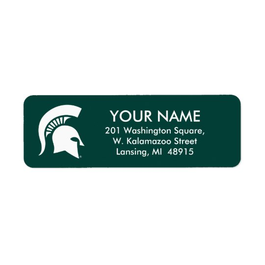 Michigan State University Spartan Helmet Logo