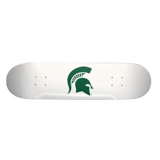 Michigan State University Spartan Helmet Logo 18.1 Cm Old School Skateboard Deck