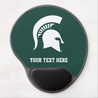 Michigan State University Spartan Helmet Logo Gel Mouse Mat