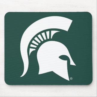 Michigan State University Spartan Helmet Logo Mouse Mat