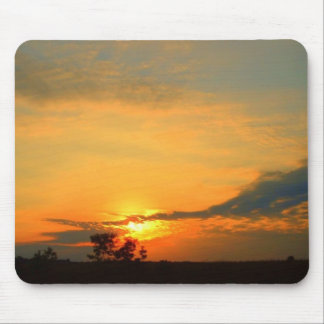 Michigan Sunset Mouse Pad