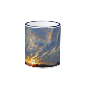 Michigan Sunset Ringer Mug