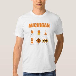 Michigan Symbols T-shirts