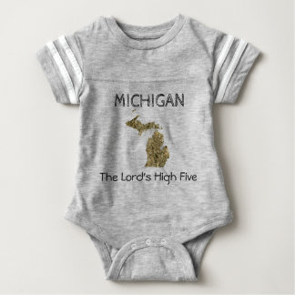 Michigan - The Lord's High Five Bodysuit