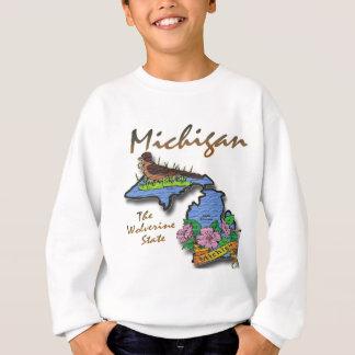 Michigan The Wolverine State Robin Apple Sweatshirt