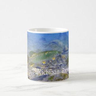 Michigan Trout Fishing Coffee Mug