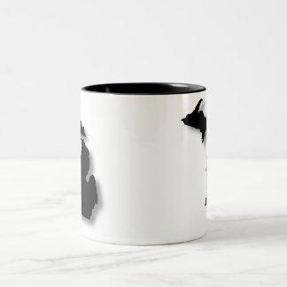Michigan Two-Tone Coffee Mug