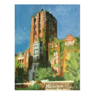 Michigan Union Ann Arbor Postcard