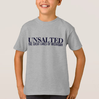 Michigan Unsalted Kids Shirt