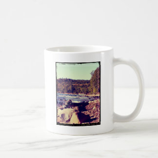 Michigan Upper Peninsula Basic White Mug