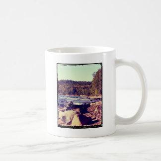 Michigan Upper Peninsula Basic White Mug