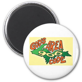 MICHIGAN / UPPER PENINSULA GIFTS 6 CM ROUND MAGNET