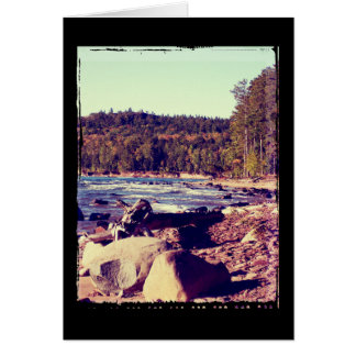 Michigan Upper Peninsula Greeting Card