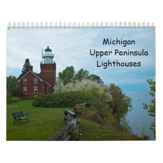 Michigan Upper Peninsula Lighthouses Calendars