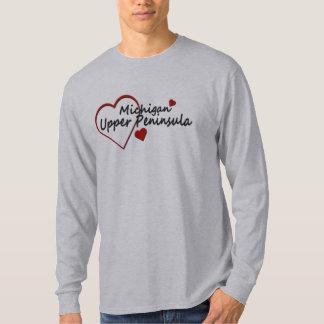 Michigan Upper Peninsula Long Sleeve T-shirt