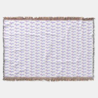 Michigan Upper Peninsula Purple Throw Blanket