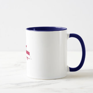Michigan Upper Peninsula Ringer Mug