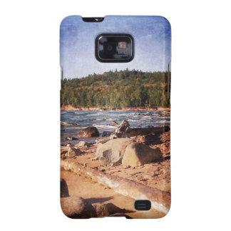 Michigan Upper Peninsula Shoreline Samsung Galaxy S2 Case