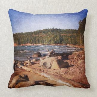 Michigan Upper Peninsula Shoreline Pillows
