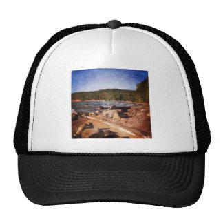 Michigan Upper Peninsula Shoreline Hats