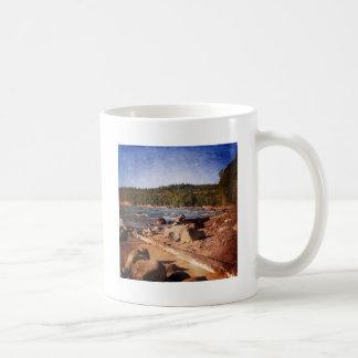 Michigan Upper Peninsula Shoreline Coffee Mug