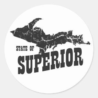 Michigan Upper Peninsula State of Superior Sticker