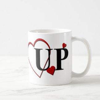 Michigan Upper Peninsula UP Heart Mug