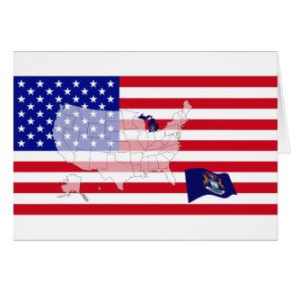Michigan, USA Card