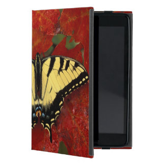 Michigan, Wetmore. Tiger Swallowtail on maple Cover For iPad Mini
