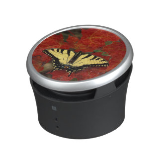 Michigan, Wetmore. Tiger Swallowtail on maple Speaker