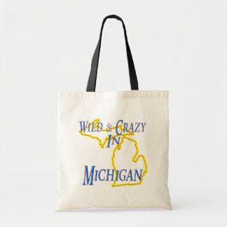 Michigan - Wild and Crazy Budget Tote Bag