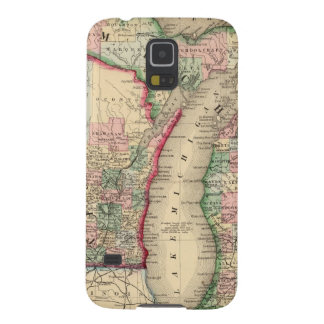 Michigan, Wisconsin Map by Mitchell Cases For Galaxy S5