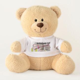 Michigander Man Pup Tent Challenge!!! Teddy Bear