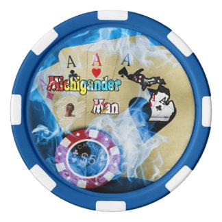 Michigander Poker Chip! Poker Chips