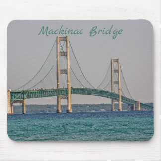 Michigan's Majestic Mackinac Bridge Mouse Mat