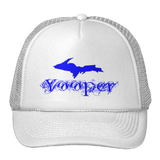 MICHIGAN'S U.P. ~ YOOPER Upper Peninsula HAT