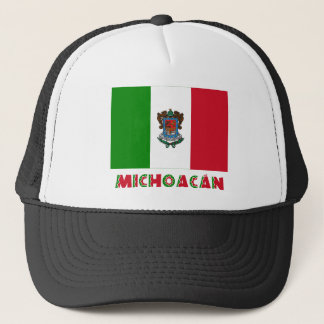 Michoacán Unofficial Flag Trucker Hat