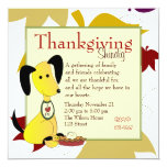 """Mick and Henry Love Pie 5.25"""" Square Invitation Card"""