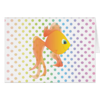 Mick the Fish Note Card