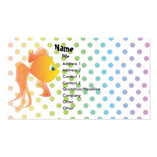 Mick the Goldfish Pack Of Standard Business Cards