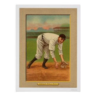Mickey Doolan Phillies Baseball 1911 Poster