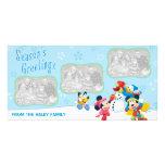 Mickey & Friends Snow: Holiday Photo Card